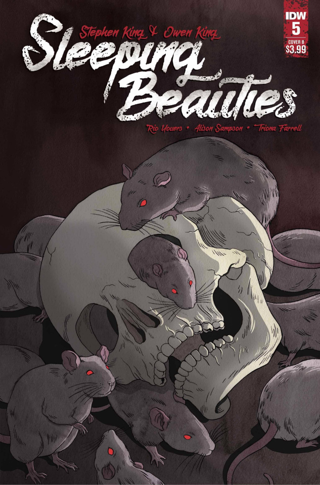 Sleeping Beauties #5 (Woodall Cover)