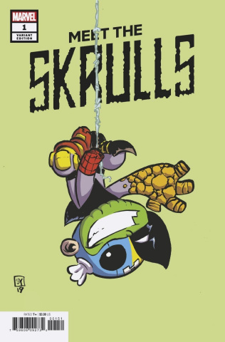 Meet the Skrulls #1 (Young Cover)