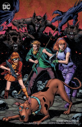 Scooby: Apocalypse #32 (Variant Cover)