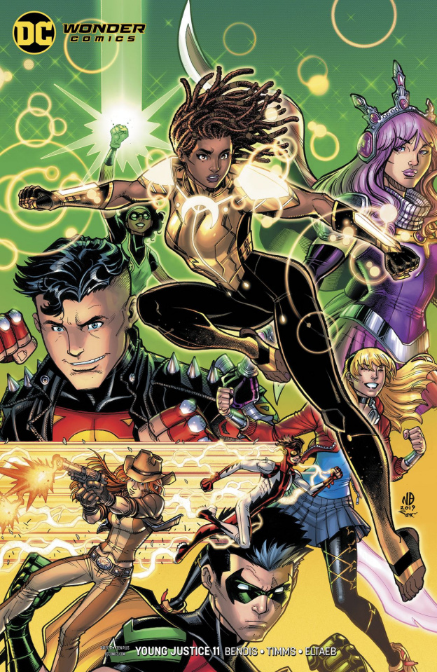 Young Justice #11 (Card Stock Cover)