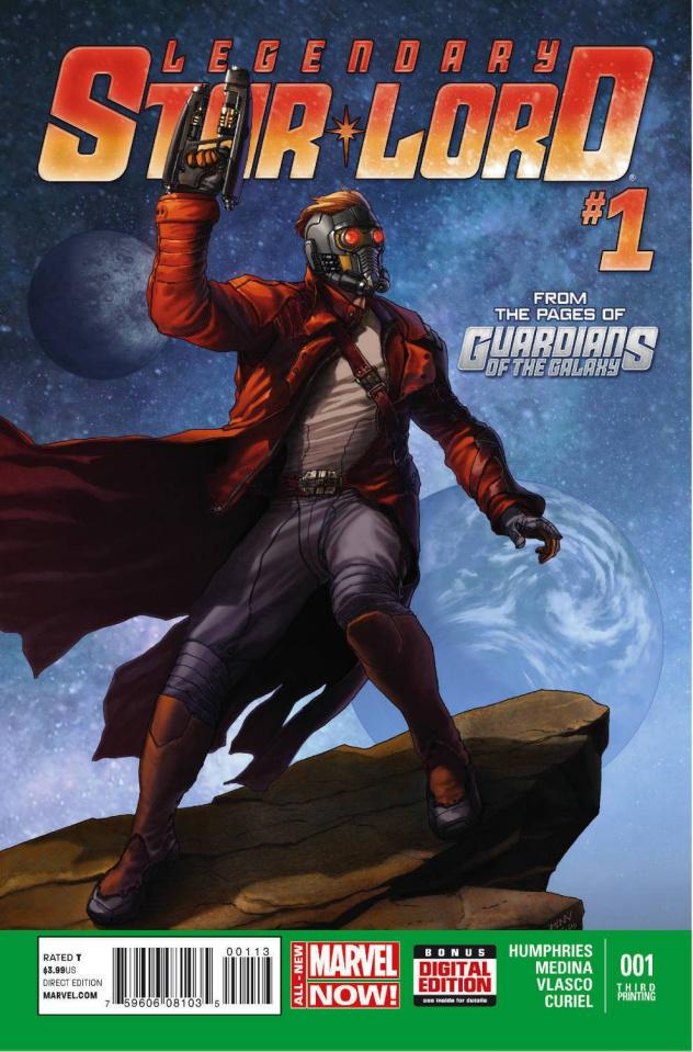 Legendary Star-Lord #1 (3rd Printing)