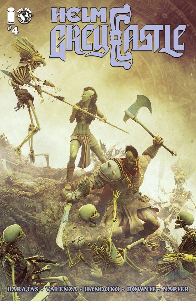 Helm Greycastle #4 (Barends Cover)