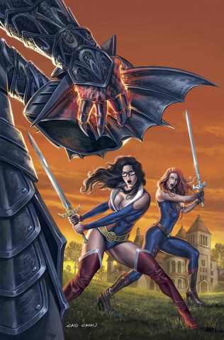 Grimm Fairy Tales #117 (Cacau Cover)