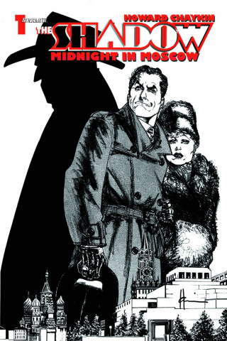 The Shadow: Midnight in Moscow #1 (Chaykin Cover)