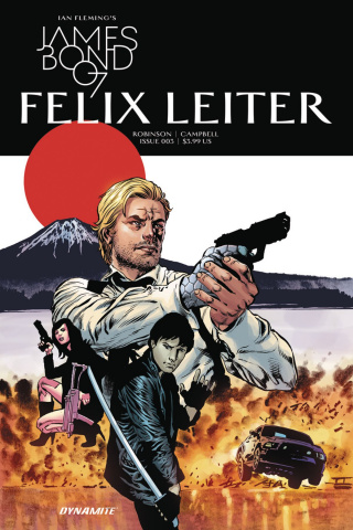 James Bond: Felix Leiter #3 (Perkins Cover)