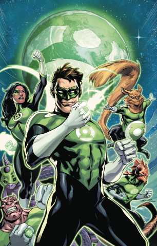 Green Lantern #7 (Variant Cover)