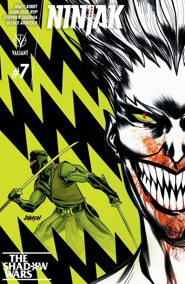Ninjak #7 (Johnson Cover)