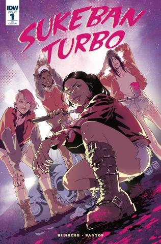Sukeban Turbo #1 (10 Copy Roe Cover)