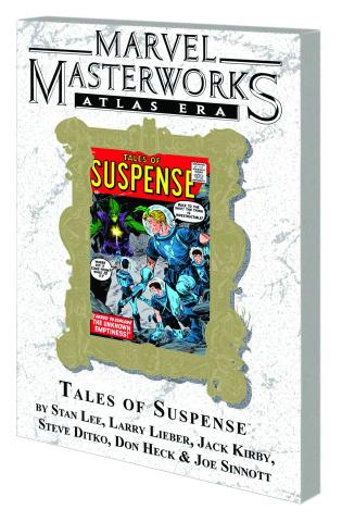Atlas Era Tales of Suspense Vol. 1 (Marvel Masterworks)