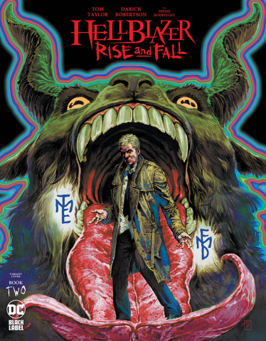 Hellblazer: Rise and Fall #2 (JH Williams III Cover)