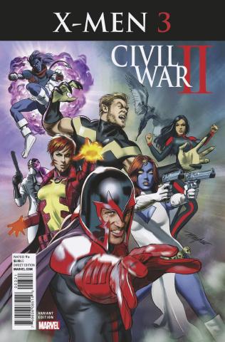 Civil War II: X-Men #3 (Mayhew Cover)