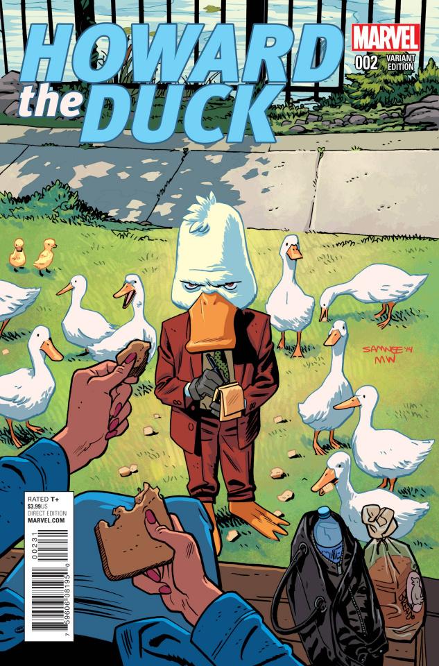 Howard the Duck #2 (Samnee Cover)