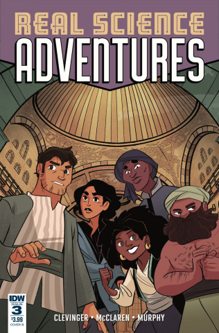Real Science Adventures: Nicodemus Job #3 (Leuver Cover)