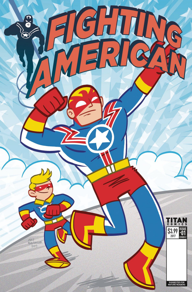 Fighting American #1 (Baltazar Cover)
