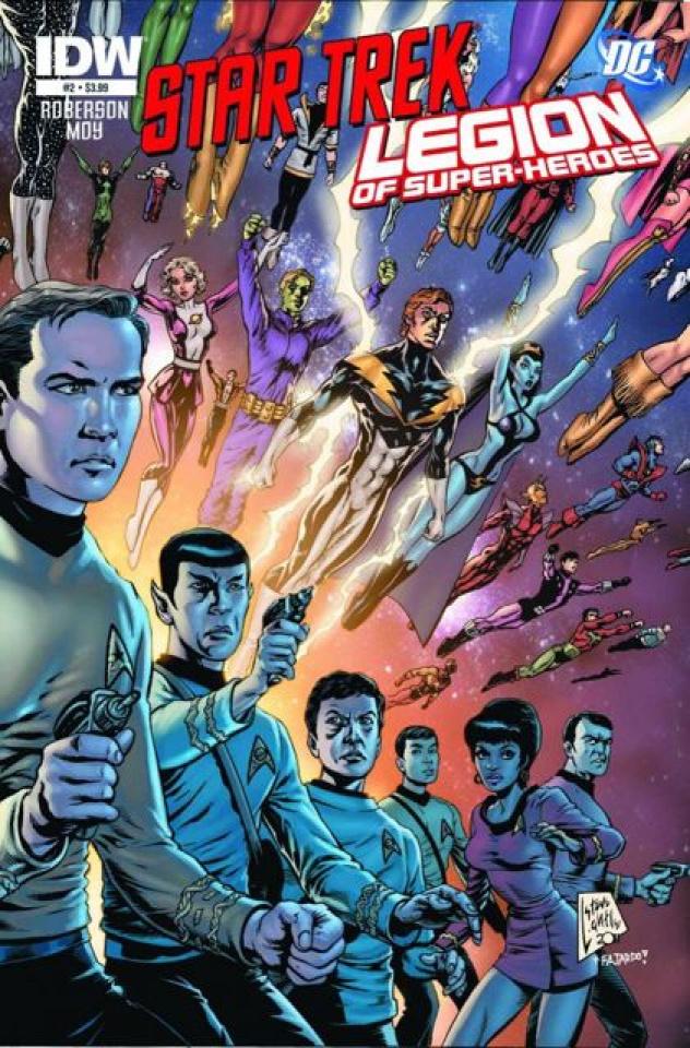 Star Trek / The Legion of Super Heroes #2