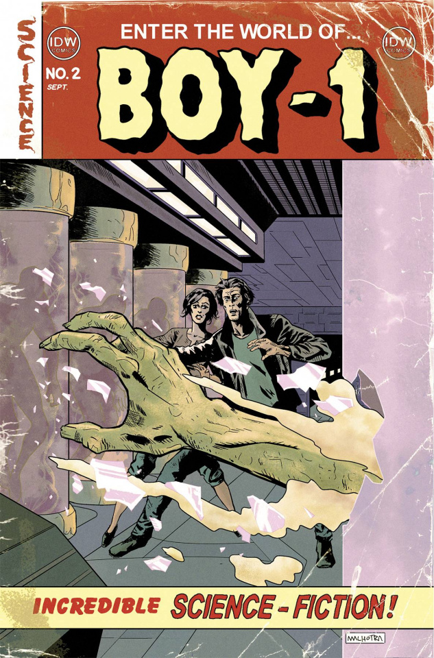 Boy-1 #2 (10 Copy Cover)