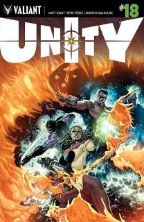 Unity #18 (Tan Cover)