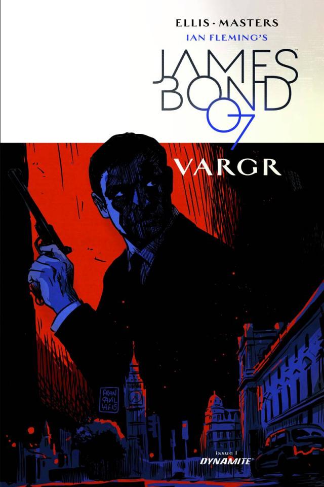 James Bond #1 (10 Copy Francavilla Unique Cover)