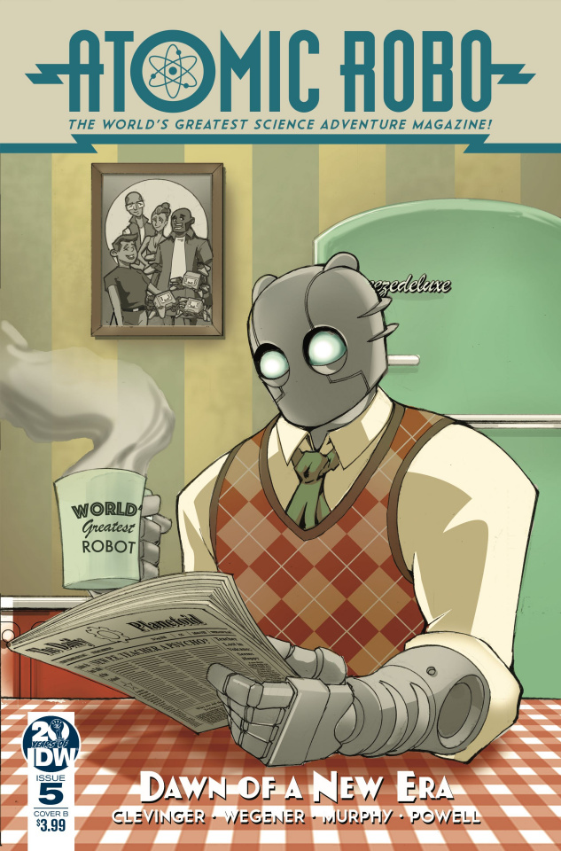 Atomic Robo: Dawn of the New Era #5 (Griffith Cover)