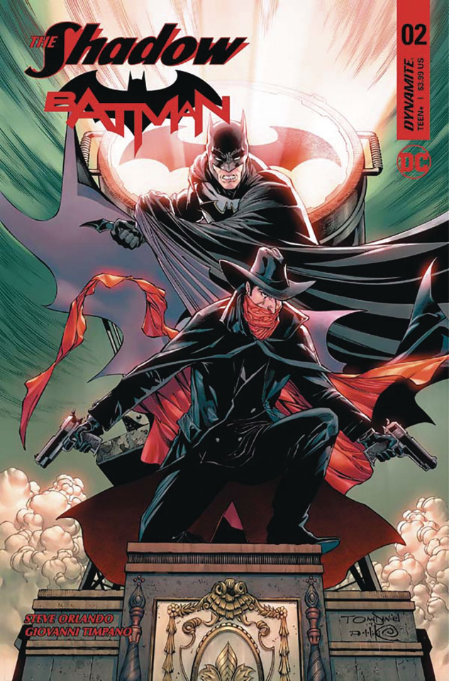 The Shadow / Batman #2 (Daniel Cover)
