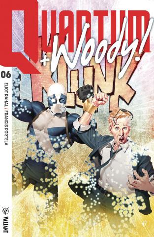 Quantum & Woody #6 (Olivetti Cover)