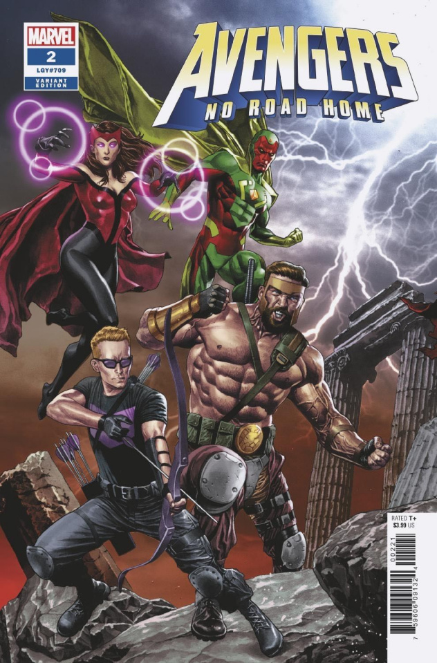 Avengers: No Road Home #2 (Suayan Connecting Cover)