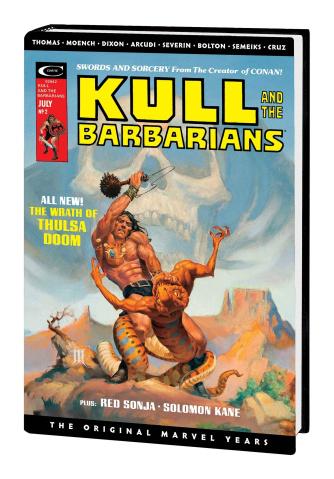 Kull: The Original Marvel Years (Omnibus Whelan Cover)