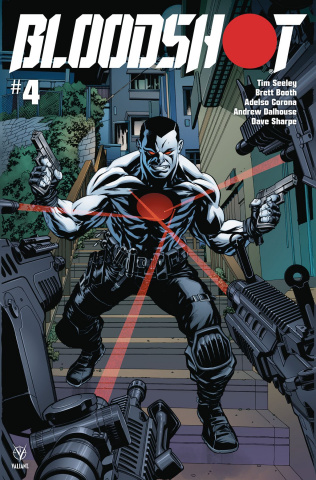 Bloodshot #4 (McKone Cover)