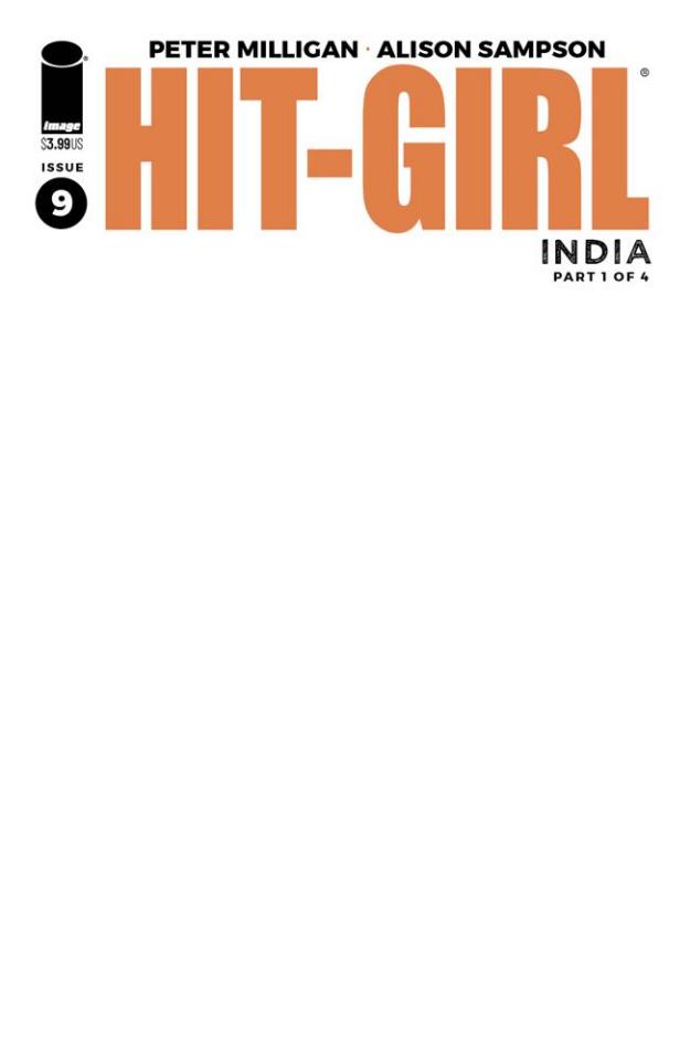 Hit-Girl, Season Two #9 (Blank Cover)