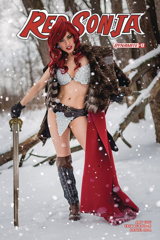Red Sonja #21 (Cosplay Cover)