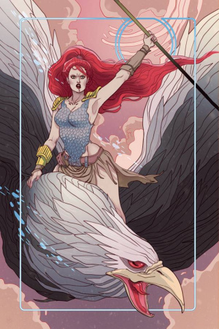 Red Sonja #6 (Rare Sauvage Virgin Art Cover)