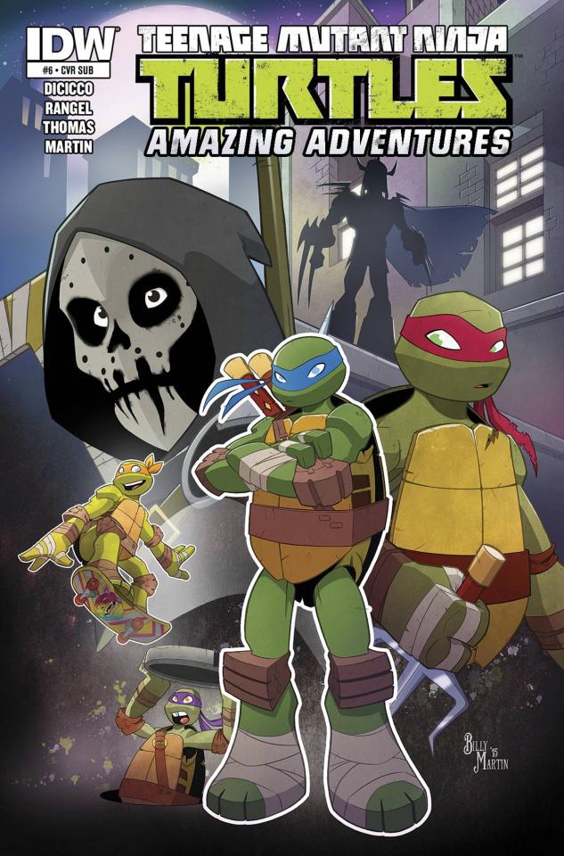 Teenage Mutant Ninja Turtles: Amazing Adventures #6 (Subscription Cover)