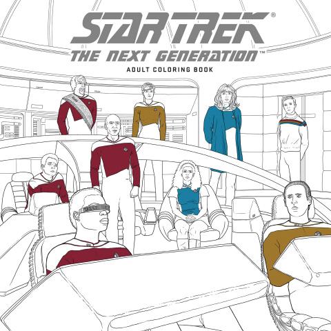 Star Trek: The Next Generation Adult Coloring Book Vol. 1