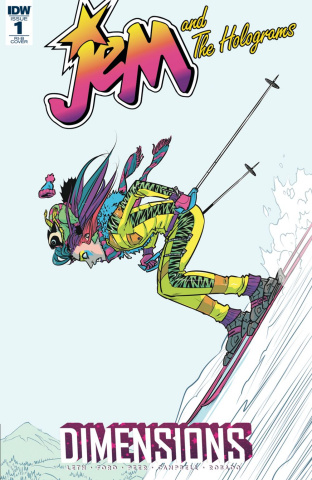 Jem and The Holograms: Dimensions #1 (20 Copy Cover)