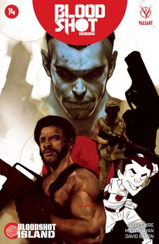 Bloodshot: Reborn #14 (Oliver Cover)