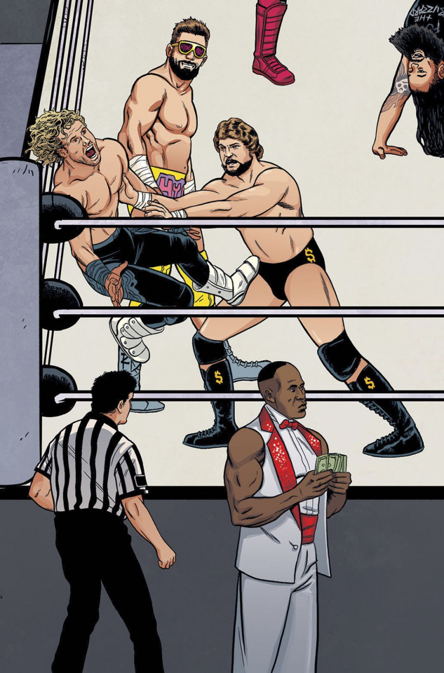 WWE #7 (Unlock Action Figure Cover)