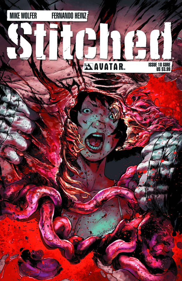 Stitched #18 (Gore Cover)