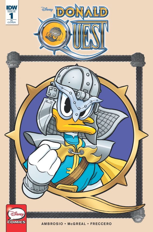 Donald Quest #1 (10 Copy Cover)