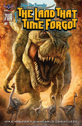 The Land That Time Forgot #2 (Painted Cover)