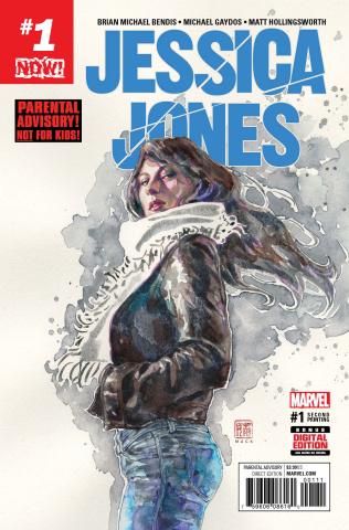 Jessica Jones #1 (2nd Printing Mack Cover)