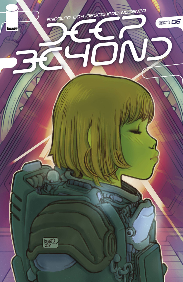 Deep Beyond #6 (Lafuente Cover)