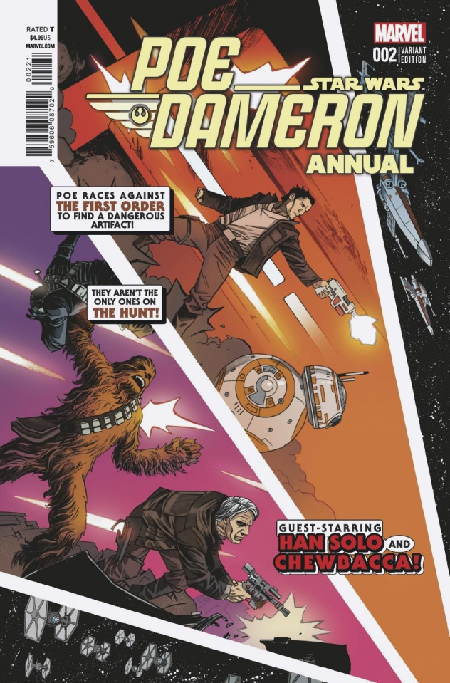 Star Wars: Poe Dameron Annual #2 (Shalvey Cover)