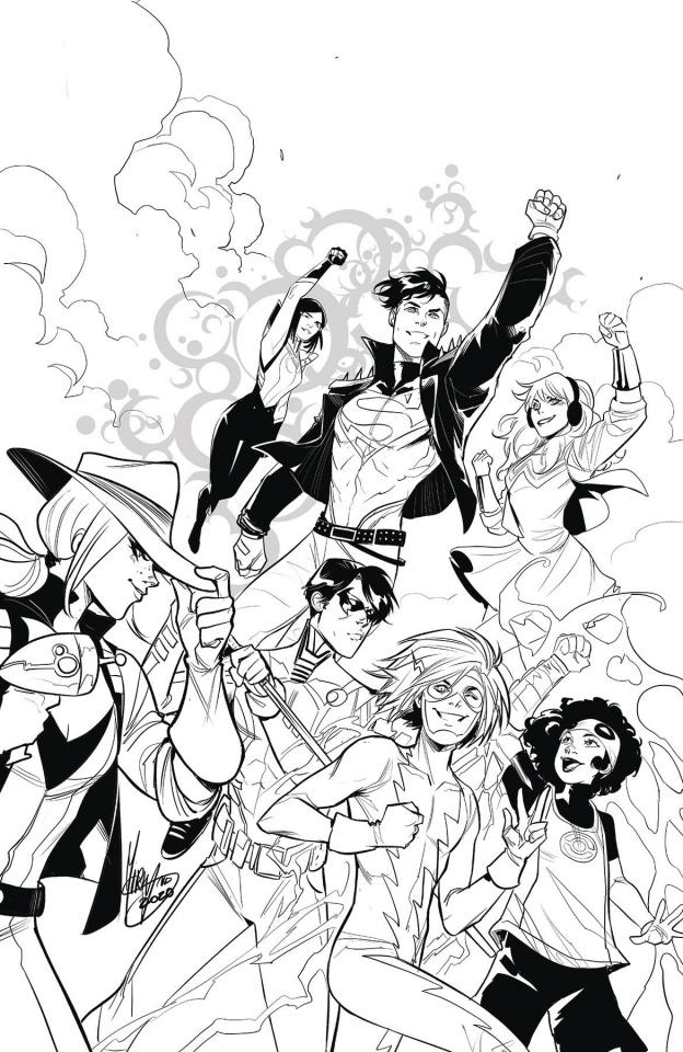 Young Justice #17 (Mirka Andolfo Cover)