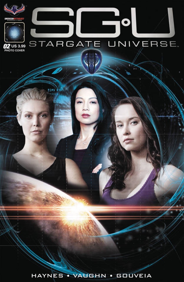 Stargate Universe: Back to Destiny #2 (Photo Cover)