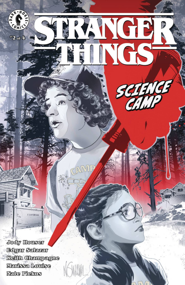 Stranger Things: Science Camp #2 (Nguyen Cover)