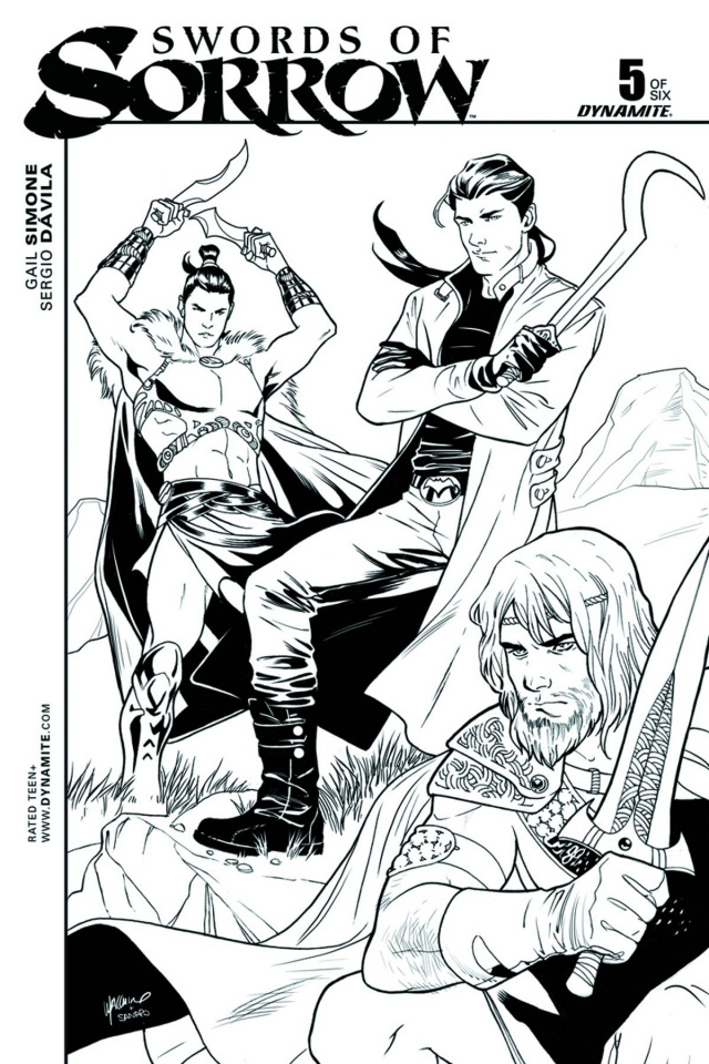 Swords of Sorrow #5 (Luppachino Cover)