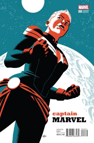 Captain Marvel #2 (Cho Cover)