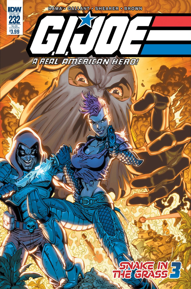 G.I. Joe: A Real American Hero #232 (Subscription Cover)