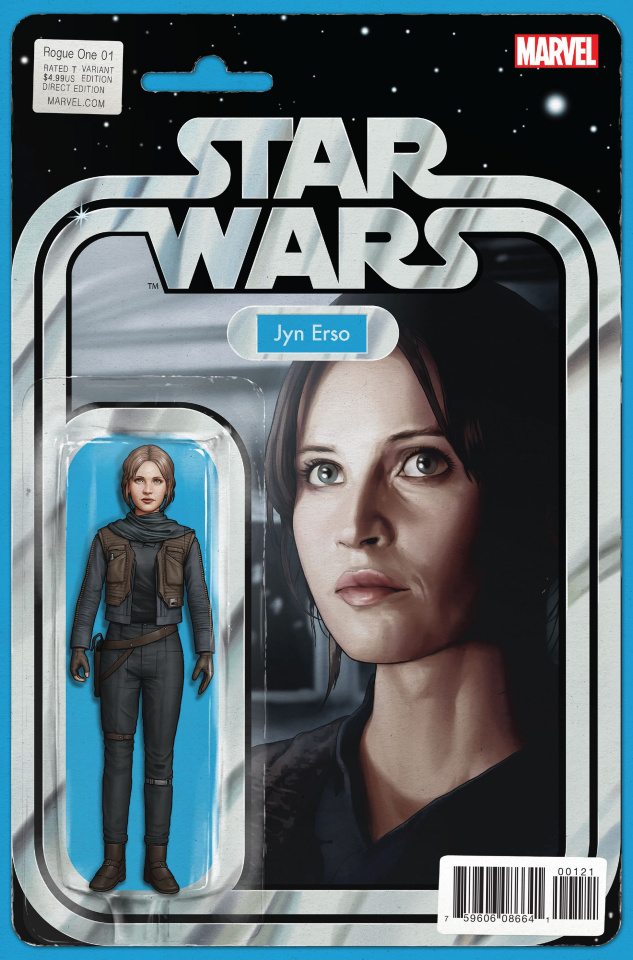 Star Wars: Rogue One #1 (Christopher Action Figure Cover)