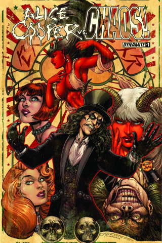 Alice Cooper vs. Chaos! #1 (Chin Cover)